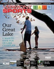 Our Great Lake - Vermont Sports Magazine