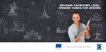 ERASMUS CHANGING LIVES OPENING MINDS fOR 25 YEARS