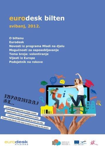 Eurodesk bilten svibanj - Agencija za mobilnost i programe EU