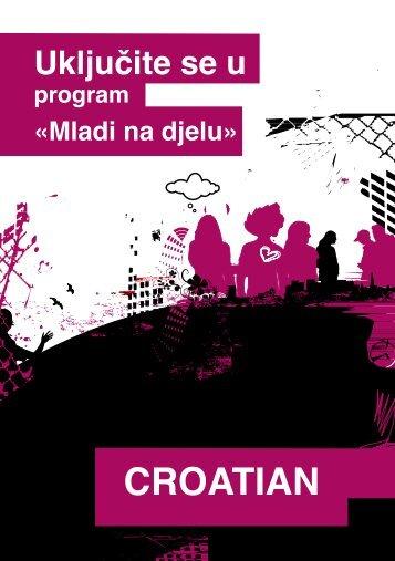 Mladi na djelu - Agencija za mobilnost i programe EU
