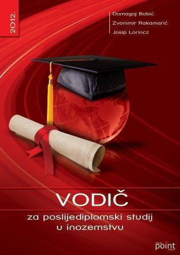 Vodic poslijediplomski inozemstvo 2 izadnje POINT 2012