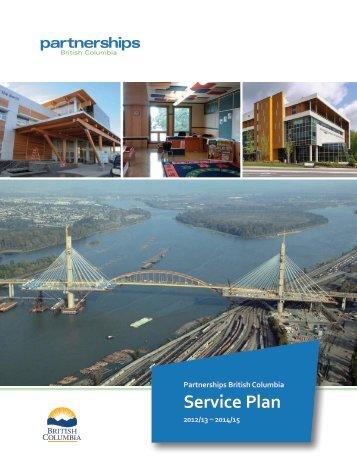 Partnerships British Columbia - Budget - Government of British ...