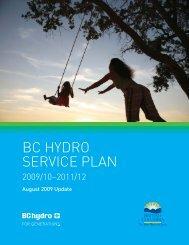 2009/10 – 2011/12 Service Plan Update - Budget