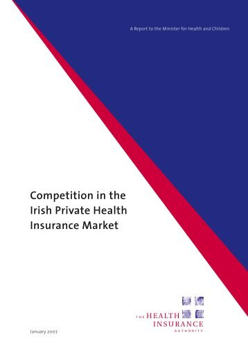 Competition in the Irish Private Health Insurance Market