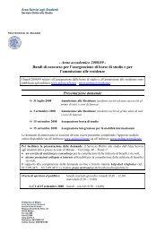 Anno accademico 2008/09 - Politecnico di Milano