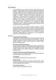 CV McNally - Politecnico di Milano