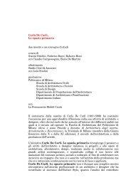 Carlo De Carli - Politecnico di Milano