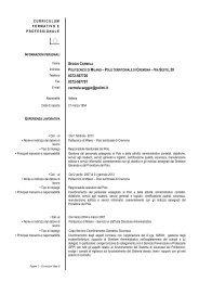 CV_Seggio_Carmela.pdf - Politecnico di Milano