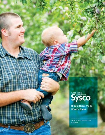 If You Strive To Do What's Right... - Sysco