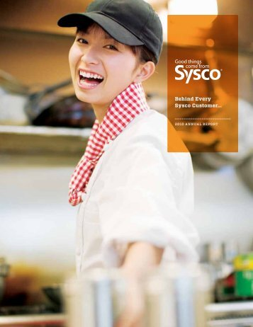 2010 Annual Report - Sysco