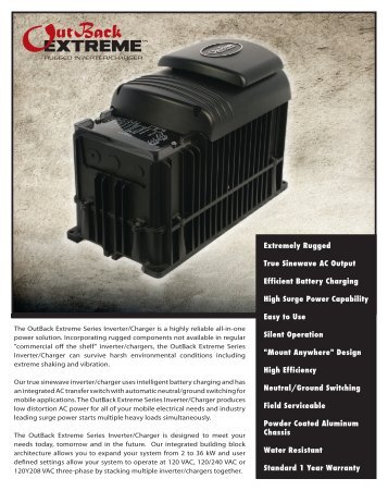 IC2524P-120/60 and OBX-IC2024P-230/50 spec sheet