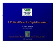 A Political Basis for Digital Inclusion - The Bolin Group