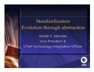 Standardization Evolution through abstraction - The Bolin Group