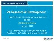 PDF file handout - HSR&D