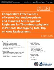 Comparative Effectiveness of New Oral Anticoagulants for ...