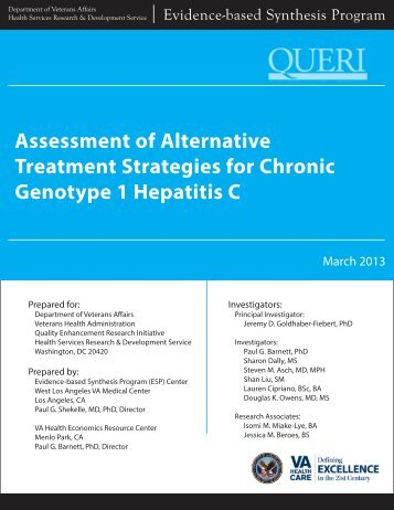 Complete Report - HSR&D