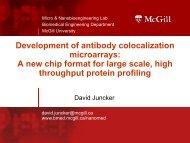 Development of antibody colocalization microarrays: A new chip ...