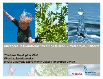 Presentation Material - McGill University and Génome Québec ...