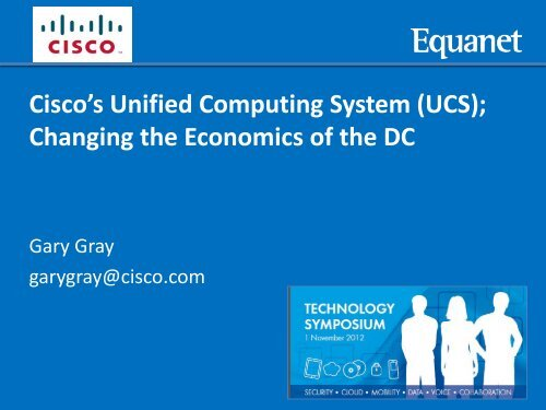 Cisco's Unified Computing System (