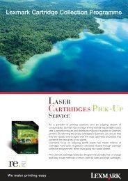 Laser Cartridges Pick-Up - Equanet
