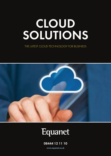 Equanet Cloud Guide