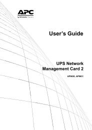 Network Management Card User's Guide