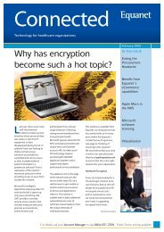 Why has encryption become such a hot topic? - Equanet