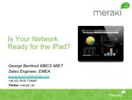 Is Your Network Ready for the iPad? - Equanet