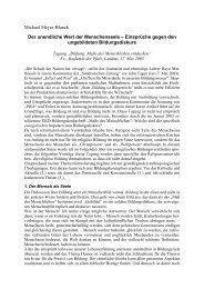 Vortrag Prof. Dr. Michael Meyer-Blank - Evangelische Kirche der Pfalz