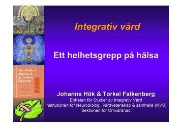 Torkel Falkenberg och Johanna Hök