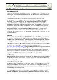 Rutin för nödlägesberedskap - Högskolan i Gävle