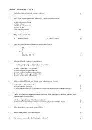 Tentamen 2 del 2 Baskemi 1 07.05.26 1. Vad kallas lösningar som ...