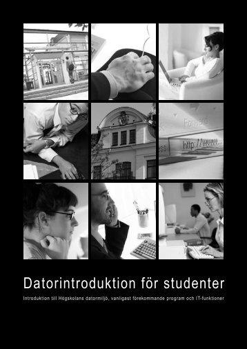 datorkompendium - Högskolan i Gävle