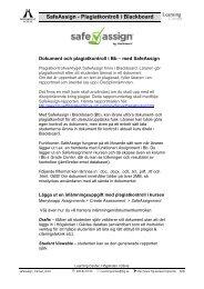 Mall för latundar, övningar mm - Högskolan i Gävle