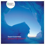 Expert Committee European Polar Board EPB - European Science ...