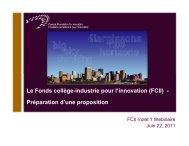 1 - Canada Foundation for Innovation