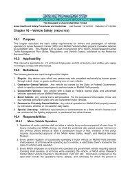 Chapter 16 – Vehicle Safety (REDACTED) 16.1 Purpose ... - NASA
