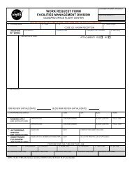 work request form facilities management division - NASA