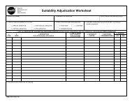 Suitability Adjudication Worksheet - Nasa