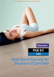 Par-Ky Pro brochure - Barbour Product Search