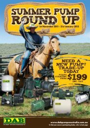NEED A NEW PUMP? TRADE-UP TODAY - Dab Pumps
