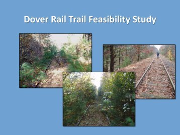Dover Rail Trail Committee - The Town of Dover