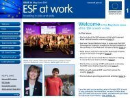 ESF at work 16 May/June 2010 - Department for Work and Pensions