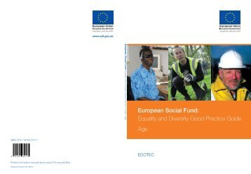 Equality and Diversity Good Practice Guide Age - Welfare Reform ...