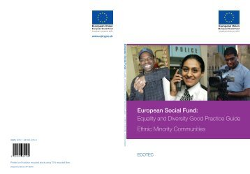 Equality and Diversity Good Practice Guide Ethnic Minority ...