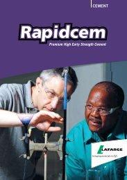 Rapidcem Brochure - Lafarge in South Africa