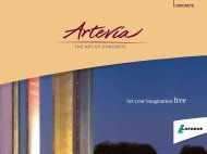 Artevia brochure - Lafarge in South Africa