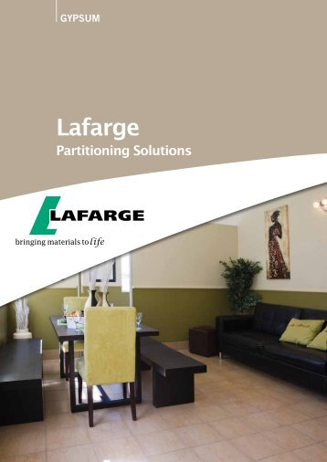Lafarge in South Africa