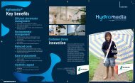 Hydromedia brochure - Lafarge in South Africa