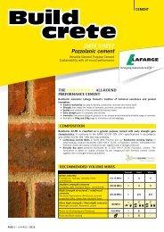 Buildcrete Datasheet - Lafarge in South Africa